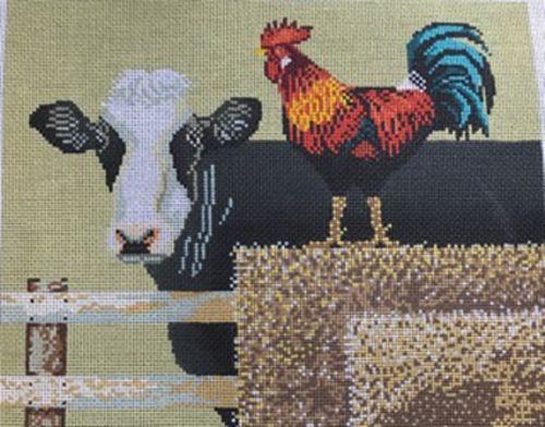 Barnyard Cows by  Cooper Oaks Designs