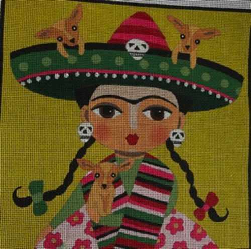 Chihuahua Girl  by  LULUMYPINKTURTLE DESIGNS