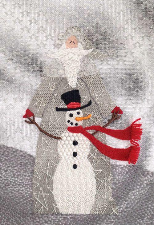 SNOWMAN SANTA by Curtis Boehringer Designs