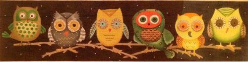 HALLOWEEN OWLS by Melissa Shirley Designs