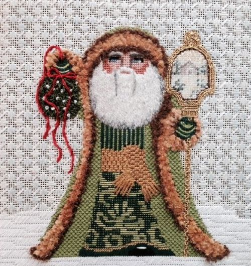 Merry Mistletoe Santa