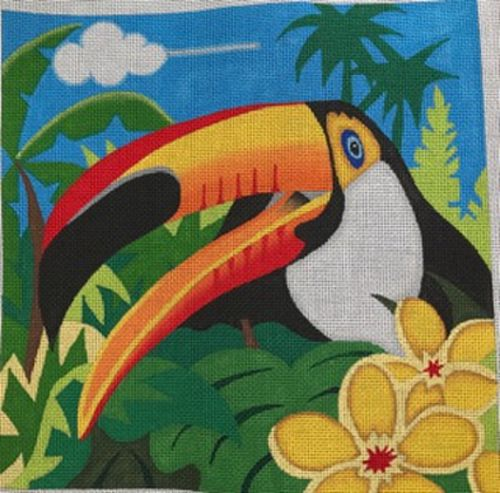 Toucan by Kathy Mouhalka Designs