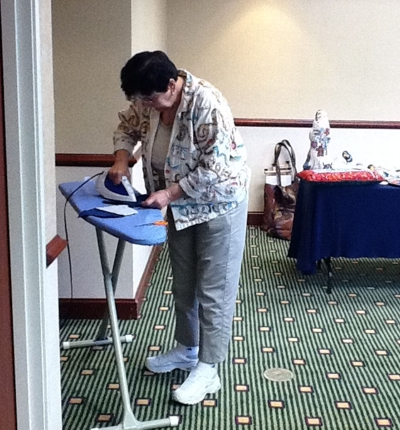 Pat Mazu -Finishing Class - Sandy Ironing