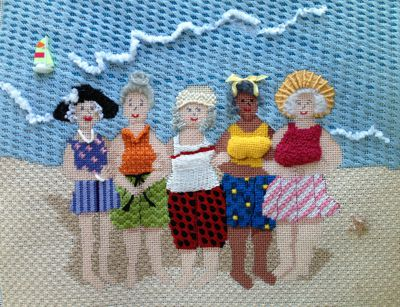 Back To The Beach - Girls Reunited by Sandy Arthur